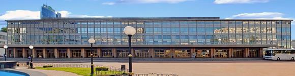Дворец Спорта фасад