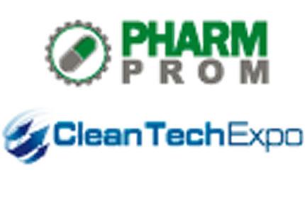 15 по 17 октября в КиевЭкспоПлазе пройдут фармацевтические выставки PHARMPROM и CleanTechExpo