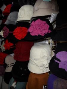 женские осенние головные уборы