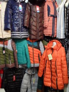 модные женские пуховики и куртки
