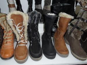 теплая осенняя и зимняя обувь