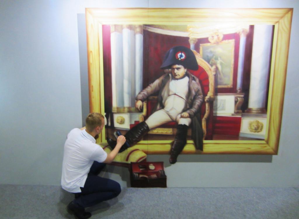 Выставка 3д картин