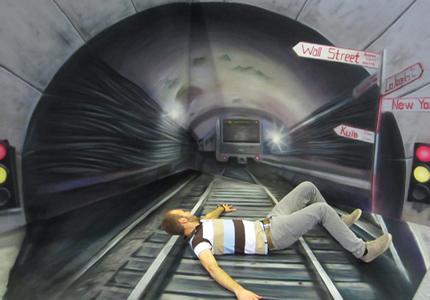 До 30 июня в ТРЦ Мармелад будет проходить выставка 3D живописи