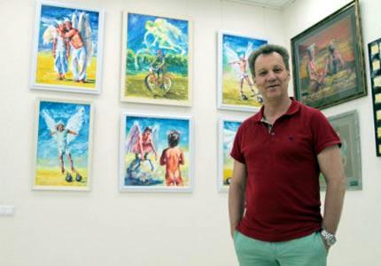 До 12 июля в галерее «Garna Gallery» будет проходить выставка картин Георгия Делиева