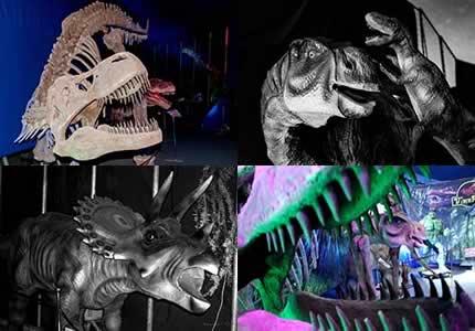 """На территории цирка Кобзов возле ТРЦ Караван проходит выставка динозавров """"Динопарк"""""""