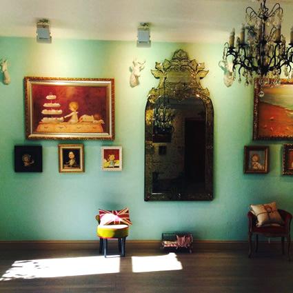 Постоянно действующая выставка работ Евгении Гапчинской в Gapchinska