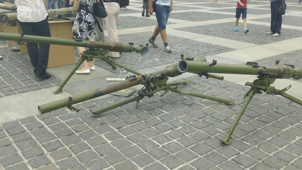 противотанковые орудия