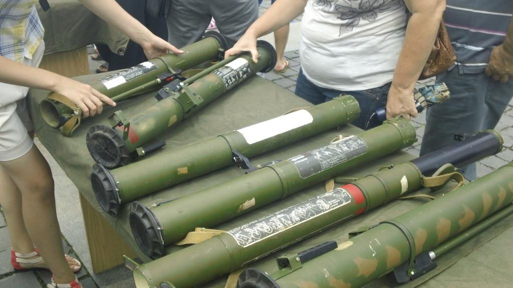 переносные зенитно-ракетные орудия