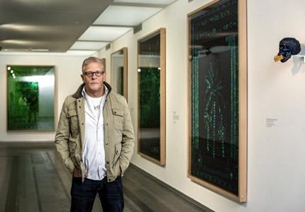 До 5 октября в PinchukArtCentre проходит выставка бельгийского художника Яна Фабра
