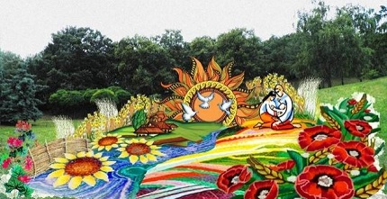 22 августа на Співочем полі пройдет выставка цветов