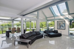 фахверковый стеклянный дом Kager