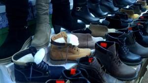 мужская и женская осенняя обувь