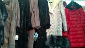 женская осенняя и зимняя одежда