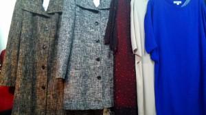 теплое осеннее пальто