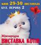 выставка кошек 29-30 ноября