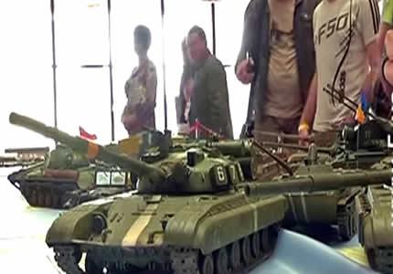 В Украинском доме проходит выставка стендового моделирования