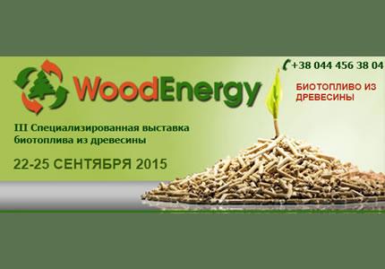 С 22 по 25 сентября в МВЦ пройдет выставка биотоплива из древесины WoodEnergy