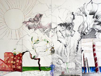 С 25 ноября по 19 декабря в Доме Природы проходит выставка Алексея  Левченко «Душа держала эту память…»