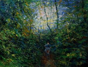C 10 декабря по 31 января 2016 в арт-центре Я. Гретера пройдет персональная выставка Дениса Ореста «Лес. Песня»
