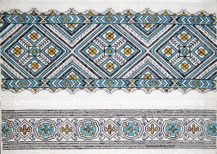С 4 ноября по 4 декабря в Музее Ивана Гончара пройдет выставка Людмилы Огневой «Культурное пространство Донетчины: Украинская вышивка»