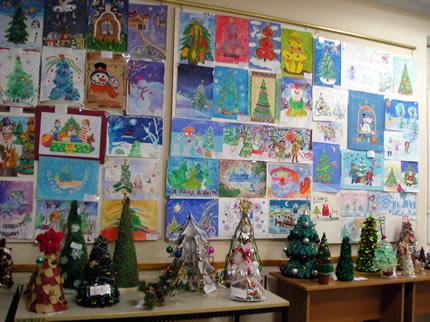 С 22 декабря по 16 января в Доме Природы пройдет выставка работ участников конкурса «Новогодняя ёлка»