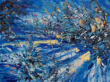 10 груденя в арт-центрі Я.Гретера відбудеться відкриття персональної виставки Ореста Дениса «Ліс. пісня »