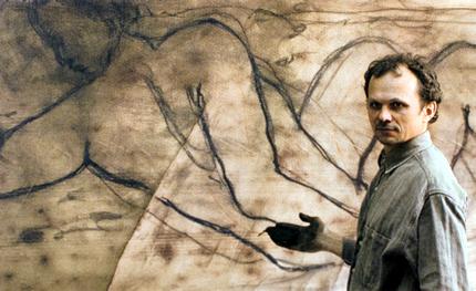 """С 24 февраля по 15 марта в Музее истории Киева пройдет выставка альбома Александра Сухолита  """"Икона"""" (бронза, левкас, рисунок)"""