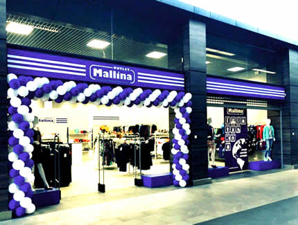 Виставка-розпродаж брендового одягу та взуття в Mallina Outlet в гіпермаркеті Novus на Здолбунівської 7 г