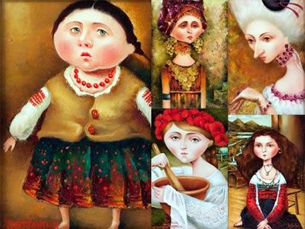 """С 1 по 9 июля в галерее """"Митець"""" пройдет выставка талантливой львовской художницы Галины Константюк"""