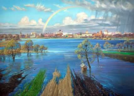 C 12 по 28 серпня в Центральному Будинку Художників проходить виставка до 25-ї річниці Незалежності України