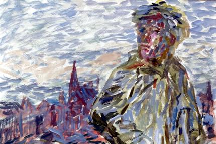 """До 28 августа в галерее Art 14 проходит выставка Александра Стахова-Шульдиженко при участии Анны Жмайло """"Лондон-Киев"""""""