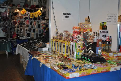 Конфеты и сладости во Дворце Спорта