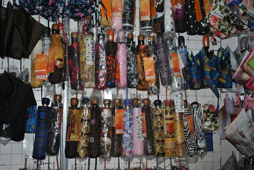 Зонты на выставке