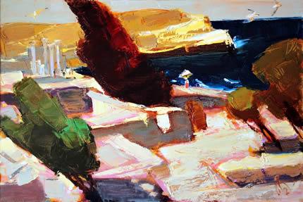 22 сентября в арт-центре Якова Гретера откроется выставка «Море внутри» украинского художника Михаила Гаевого