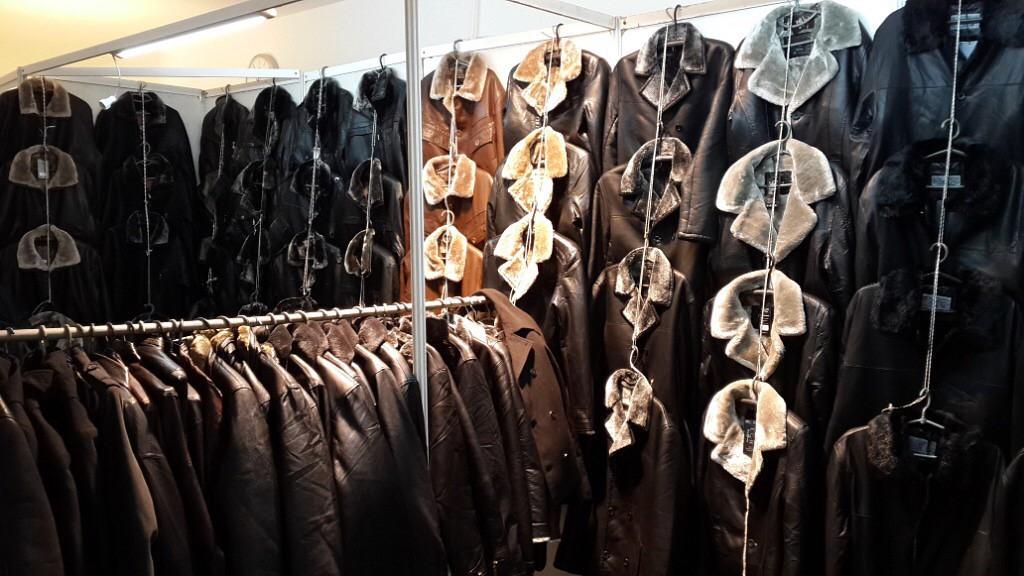 мужские зимние кожаные куртки в Киеве