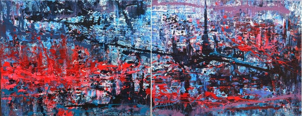 """С 12 по 25 октября в Музее истории Киева пройдет выставка абстракционизма от Татьяны Василенко """"Feel 6 sense"""""""