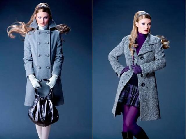 Женские модные осенние и зимние пальто
