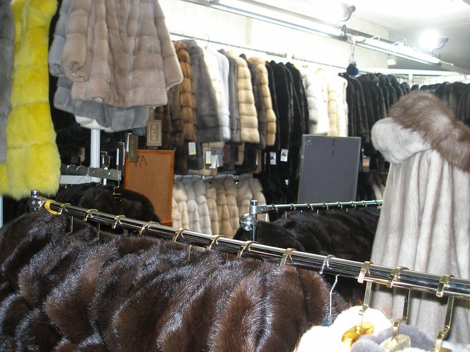Большой выбор норковых шуб от украинских производителей