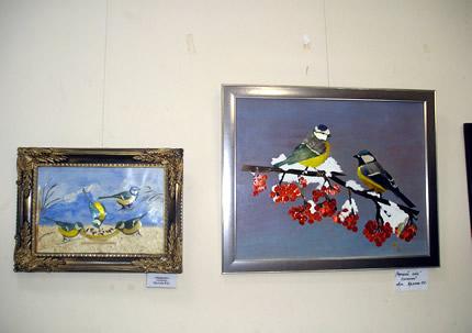 C 31 января по 19 февраля в Доме Природы проходит выставка ошибаны «Птичий базар»