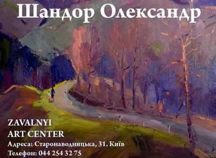 С 11 по 31 марта в Завальном арт центре пройдет выставка живописи Александра Шандора