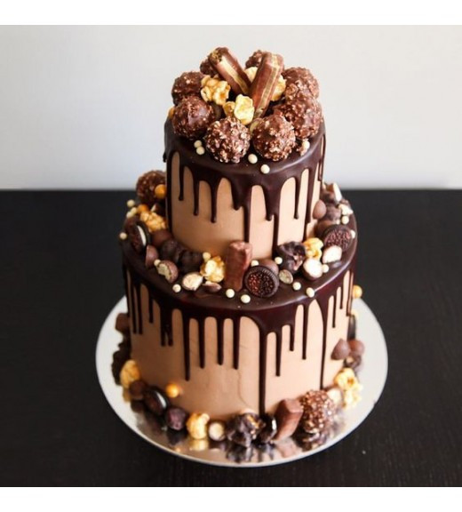 "Торт ""Шоколадный фантазия"""