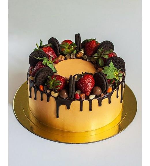 """Торт """"Фруктово-шоколадный"""""""