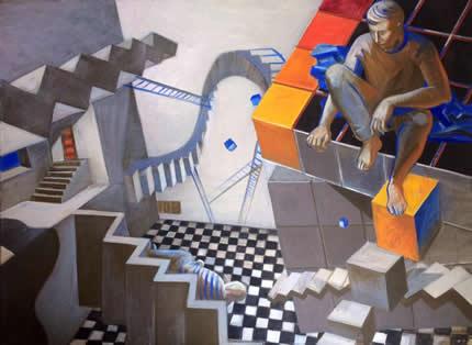 Арт-галерея «Мануфактура» 22 апреля презентует выставку живописи «Дикий сон разума»