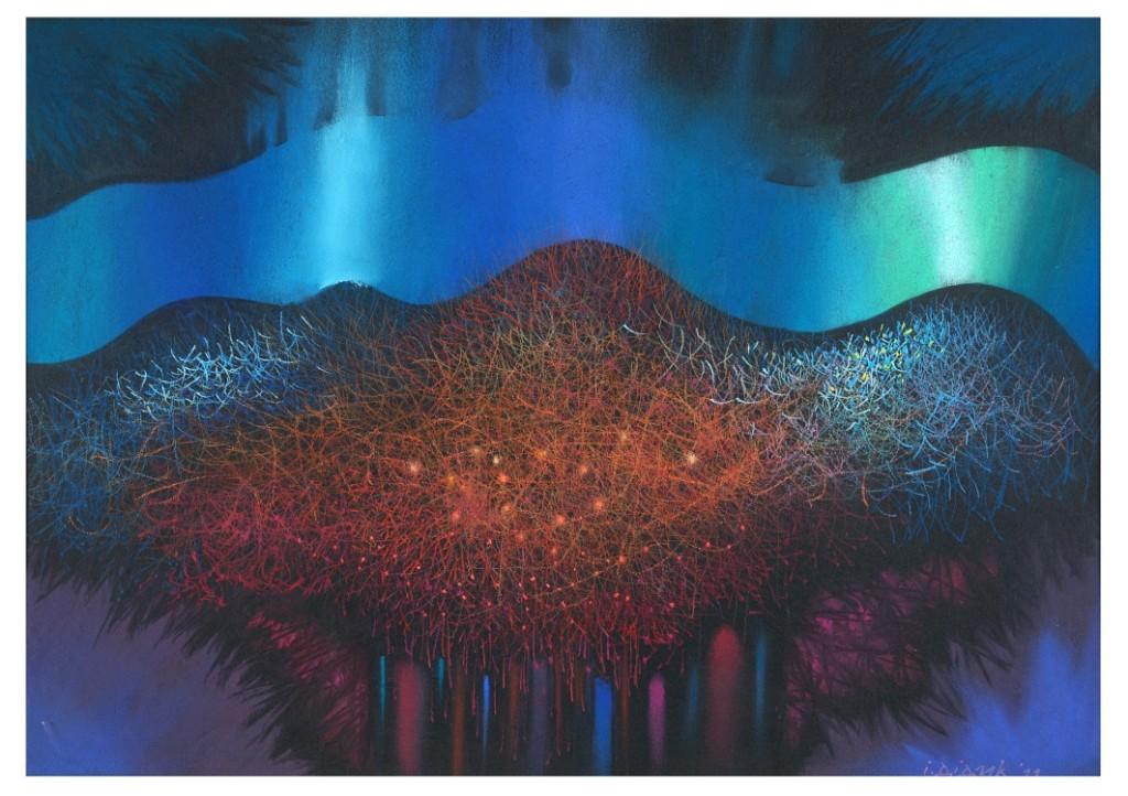 С 27 апреля по 21 мая в Музее современного искусства Украины пройдет выставка «Цвет сакуры»