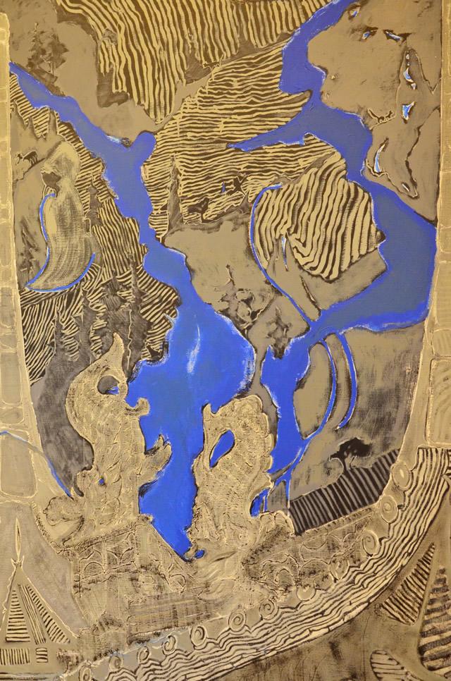 26 мая в арт-галерее «Мануфактура» открылась выставка живописи Аллы Волобуевой «Путь или путешествие по Поднебесной»