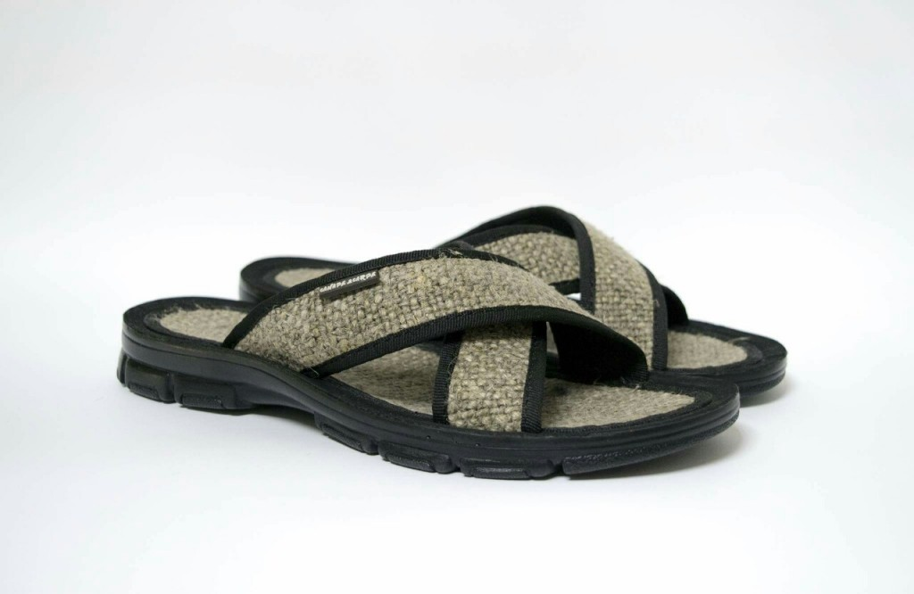 Летние мужские и женские сандалии из конопли