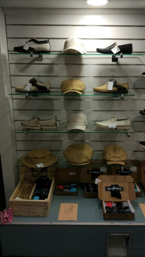 Летняя мужская обувь, кепки и блайзеры из конопли