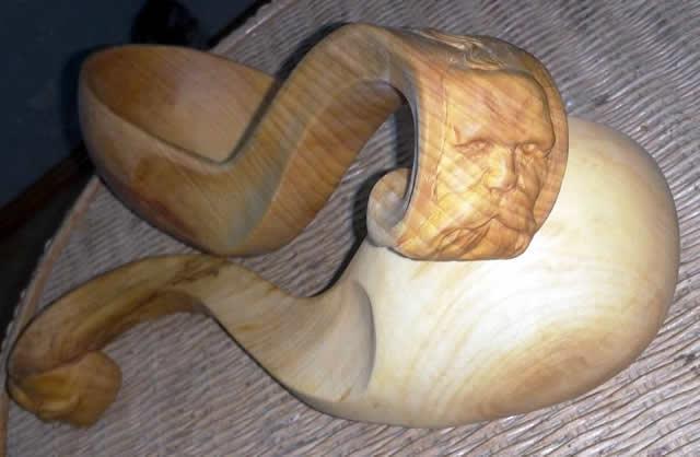 Козацкая деревянная чаша