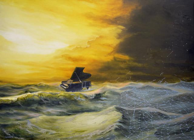 С 15 июля по 15 сентября в арт-галерее «Мануфактура» пройдет выставка живописи Сергея Луценко «Расхождение реальности»