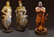 Онлайн выставка и заказ деревянных скульптур от Арт-студии авторских работ Владимира Ройок